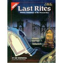 Last Rites (Rpg Call of Cthulhu 1990s en VO) 001