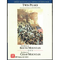 Twin Peaks - The Battles of South Mountain & Cedar Mountain 1862 (wargame GMT en VO)