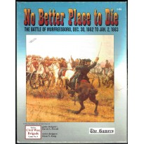 No Better Place to Die - The Battle of Murfreesboro 1862-63 (wargame The Gamers en VO)