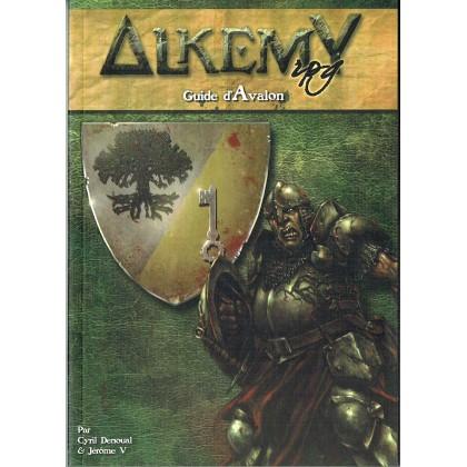 Alkemy Rpg - Guide d'Avalon (jdr compatible D&D 4 en VF) 001