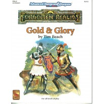 FR15 Gold & Glory (jdr AD&D 2nd edition - Forgotten Realms en VO)