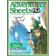 Adventurer Sheets - Human (rpg Runequest 3rd edition en VO) 002