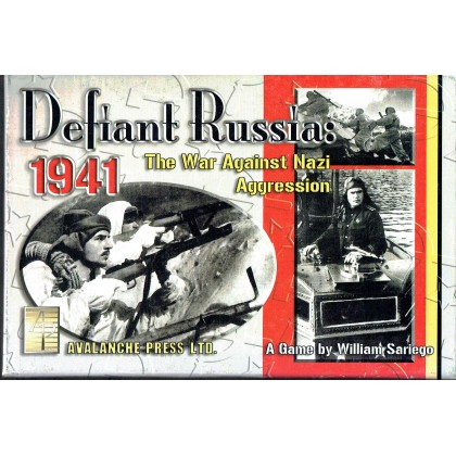 Defiant Russia 1941 - The war against nazi aggression (wargame Avalanche Press en VO) 001