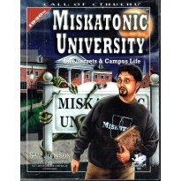 Miskatonic University (Rpg Call of Cthulhu 1920s en VO) 001