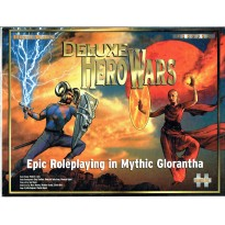 Deluxe Hero Wars - Epic Rolepaying in Mythic Glorantha (coffret de base jdr en VO)
