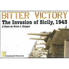 Bitter Victory - The Invasion of Sicily, 1943 (wargame Avalanche Press en VO)