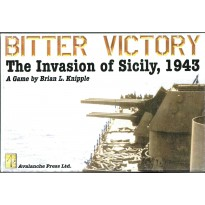 Bitter Victory - The Invasion of Sicily, 1943 (wargame Avalanche Press en VO) 001