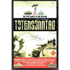 Totensonntag - The First Battle of Sidi Rezegh 1941 (wargame LNL Publishing en VO)