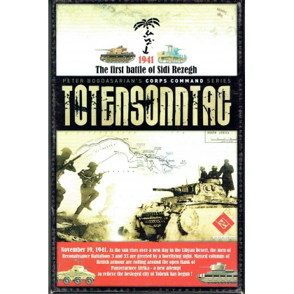 Totensonntag - The First Battle of Sidi Rezegh 1941 (wargame LNL Publishing en VO) 001