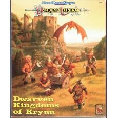 Dragonlance - Dwarven Kingdoms of Krynn - Box Set (jdr AD&D 2nd edition en VO)