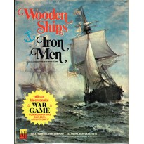 Wooden Ships & Iron Men (wargame Avalon Hill 2e édition en VO)
