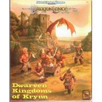 Dragonlance - Dwarven Kingdoms of Krynn - Box Set (jdr AD&D 2nd edition en VO)