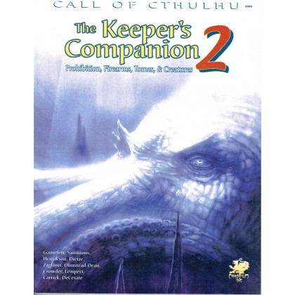 The Keeper's Companion 2 (Rpg Call of Cthulhu en VO) 001