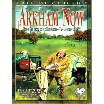 Arkham Now (Rpg Call of Cthulhu en VO) 001