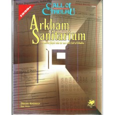 Arkham Sanitarium (Rpg Call of Cthulhu 1920s en VO)
