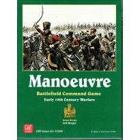 Manoeuvre - Battlefield Command Game (wargame GMT en VO)
