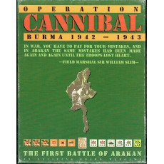 Operation Cannibal - Burma 1942-1943 (wargame Avalanche Press en VO)