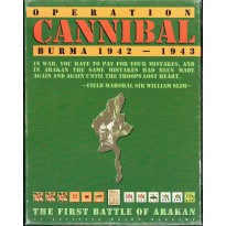 Operation Cannibal - Burma 1942-1943 (wargame Avalanche Press en VO)