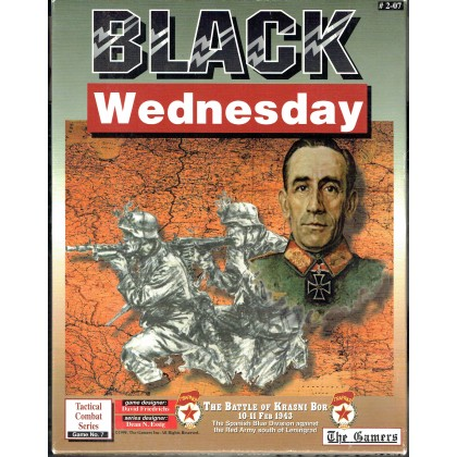 Black Wednesday - The Battle of Krasni Bor, 10-12 feb 1943 (wargame The Gamers en VO) 001