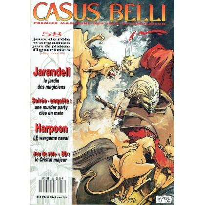 Casus Belli N° 58 (magazine de jeux de rôle) 007