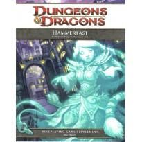Hammerfast - A Dwarven Outpost Adventure Site (jdr Dungeons & Dragons 4 en VO)