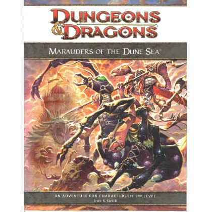 Marauders of the Dune Sea - Dark Sun (jdr Dungeons & Dragons 4 en VO) 001