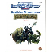 Bestiaire Monstrueux - Appendice I (jdr AD&D 2ème édition - Forgotten Realms en VF)