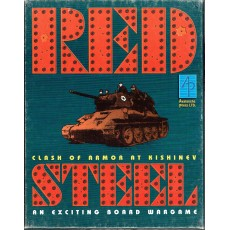 Red Steel - Clash of Armor at Kishinev 1941 (wargame Avalanche Press en VO)