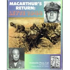 Leyte 1944 - MacArthur's Return (wargame Avalanche Press en VO)