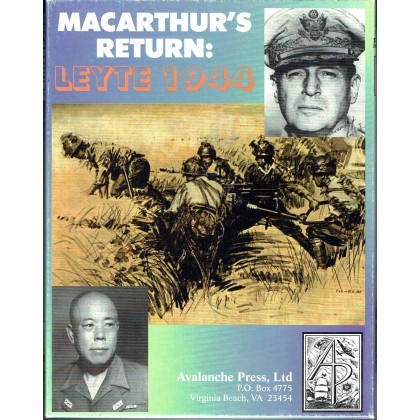 Leyte 1944 - MacArthur's Return (wargame Avalanche Press en VO) 001