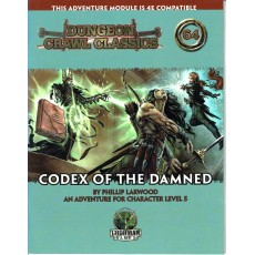 Dungeon Crawl Classics 64 - Codex of the Damned (jdr D&D 4 en VO)