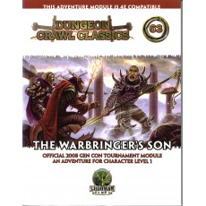 Dungeon Crawl Classics 63 - The Warbringer's Son (jdr D&D 4 en VO)