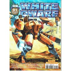 White Dwarf N° 91 (magazine de jeux de figurines Games Workshop en VF)