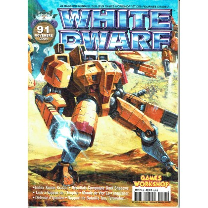 White Dwarf N° 91 (magazine de jeux de figurines Games Workshop en VF) 001