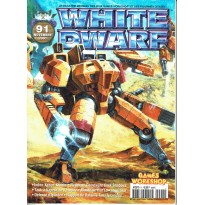 White Dwarf N° 91 (magazine de jeux de figurines Games Workshop en VF) 001