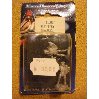 Mercenary Warriors (blister figurines AD&D Miniatures de Ral Partha) 001