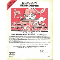 Dungeon Geomorphs  (jdr D&D 1ère édition en VO) 001