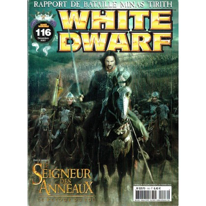 White Dwarf N° 116 (magazine de jeux de figurines Games Workshop en VF) 001