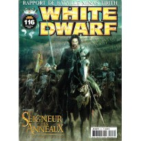 White Dwarf N° 116 (magazine de jeux de figurines Games Workshop en VF) 001
