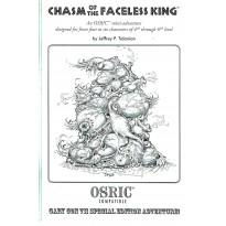 Chasm of the Faceless King - Exemplaire numéroté (jdr pour OSRIC System en VO) 001