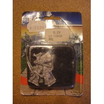 Elf Fighter Mage (blister de figurines Fantasy Ral Partha) 001
