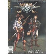 Metal Adventures - Dossier de Personnage (jdr Matagot en VF)
