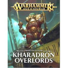 Order Battletome - Kharadron Overlords (jeu de figurines Age of Sigmar Warhammer en VF)