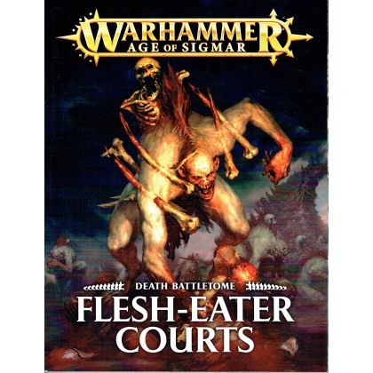 Death Battletome - Flesh-Eater Courts (jeu de figurines Age of Sigmar Warhammer en VF) 001