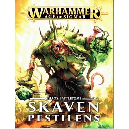 Chaos Battletome - Skaven Pestilens (jeu de figurines Age of Sigmar Warhammer en VF) 001