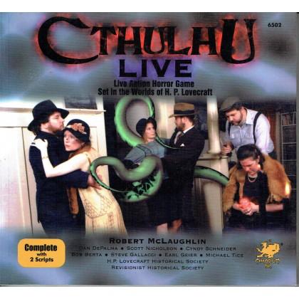 Cthulhu Live - Live Action Horror Game (livre de règles Grandeurs Nature en VO) 001