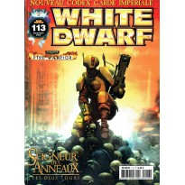 White Dwarf N° 113 (magazine de jeux de figurines Games Workshop en VF)