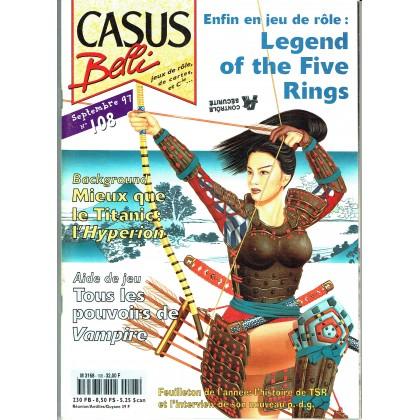 Casus Belli N° 108 (magazine de jeux de rôle) 005
