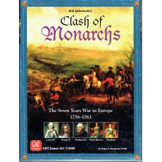 Clash of Monarchs - The Seven Years War in Europe (wargame GMT en VO)