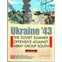 Ukraine'43 - The Soviet summer offensive against Army Group South (wargame GMT V1 en VO)